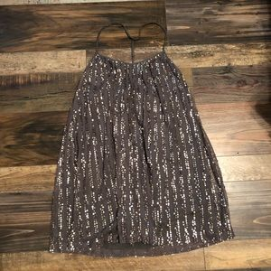 Abercrombie and finch sequin dress small